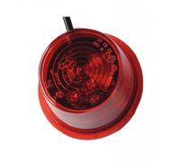 Breddmarkering lampa Röd