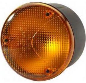 Rund blinklykta LED