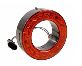 Bak och bromslykta rund LED 112mm