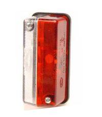 Breddmarkeringslykta Röd/vit 92 x 42 mm